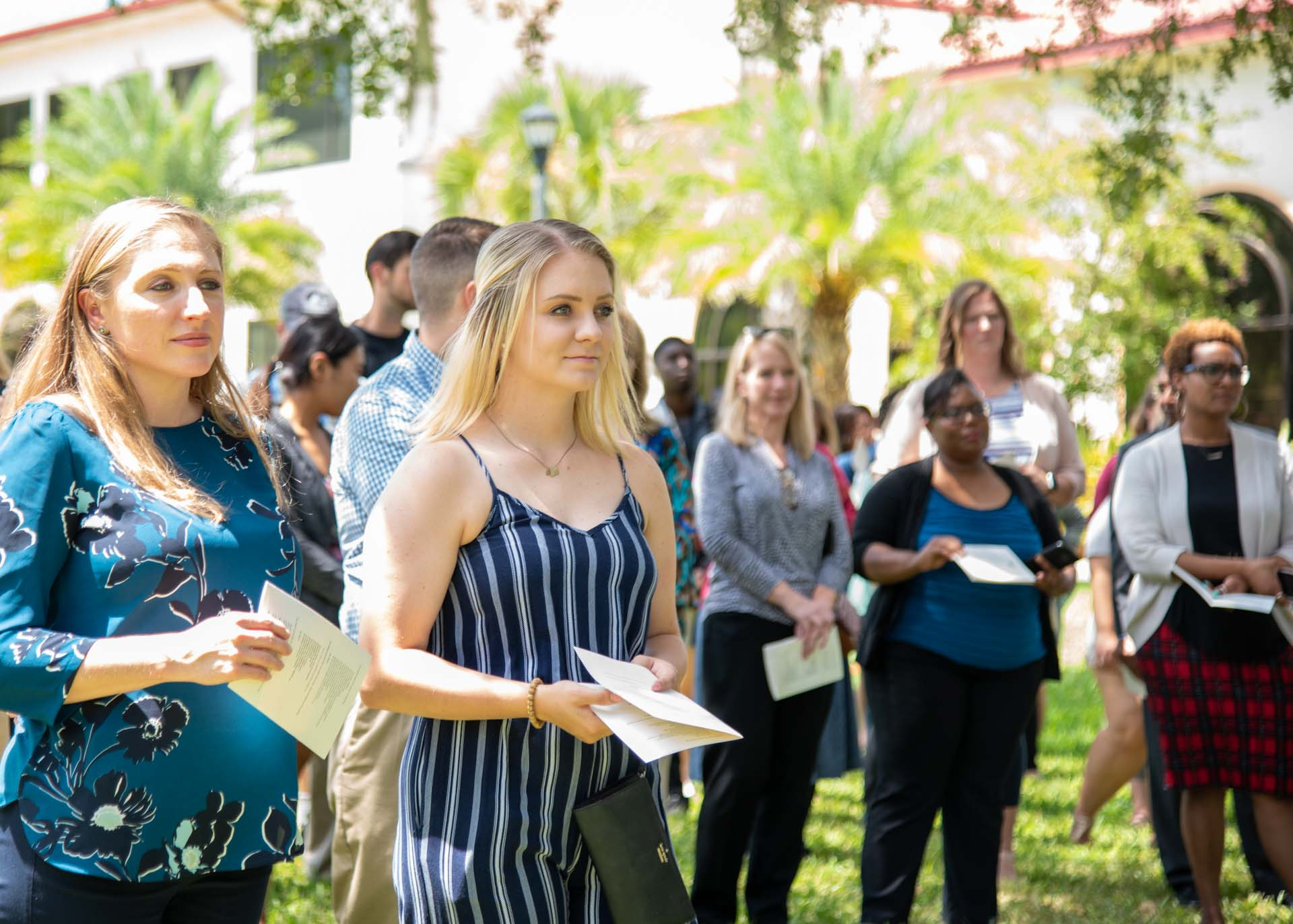 Saint Leo community gathers for blessing of coffeehouse construction_edited