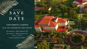 Undergraduate Admission open house @ Saint Leo University Campus
