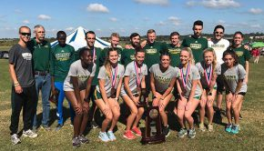 Saint Leo XC at 2017 NCAA South Region meet