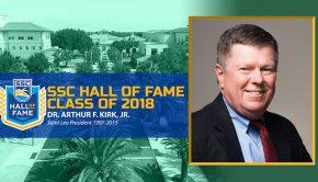 Dr. Kirk SCC Hall of Fame