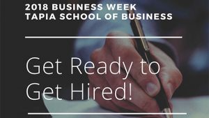Business Week 2018 @ TECO Hall in the School of Business Building