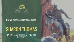 Native American Artifacts Display with Sharon Thomas @ Dining Hall Lobby