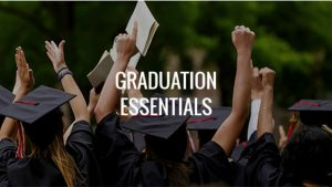 Graduation essentials ordering event at University Campus—February 17 and 18 @ University Bookstore and Online