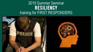 Resiliency for First Responders training @ Gwinnett Education Center