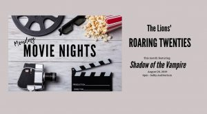 Monday Movie Night: <em>The Shadow of the Vampire</em> @ Selby Auditorium, Lewis Hall
