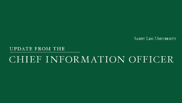 Update from the Chief Information Officer