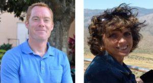 Dr. Randall Woodard and Dr. Lori Puterbaugh