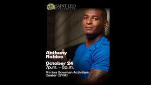 Anthony Robles: NCAA Championship Wrestler @ Marion Bowman Activities Center