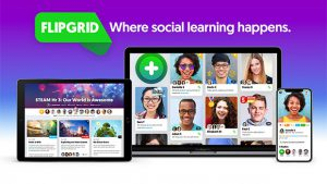 Tech Tip Tuesday, Flipgrid @ Saint Edward Hall, Room 102, or online at Blackboard Collaborate