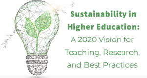 Sustainability in Higher Education: A 2020 Vision for Teaching, Research, and Best Practices @ Saint Leo University, Kirk Hall