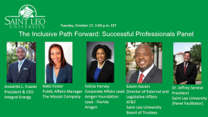 <em>The Inclusive Path Forward: Successful Professionals Panel</em> @ Online