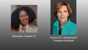 Webinar: Former U.S. Ambassador Prudence Bushnell @ Virtual