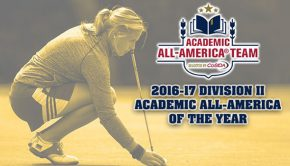 Marie Coors - Division II Academic All America of The Year
