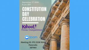 Constitution Day Celebration Trivia @ Online